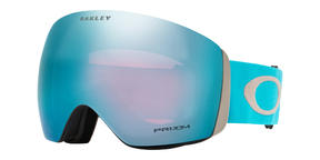 Oakley Flight Deck Goggle 2019 Moon Rock Carribean Sea Prizm Sapphire
