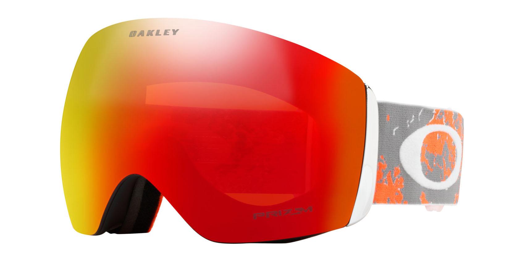 84755159c1cb5 Sentinel Oakley Snowboard Goggles - Flight Deck - Arctic Fracture Orange,  Prizm Torch
