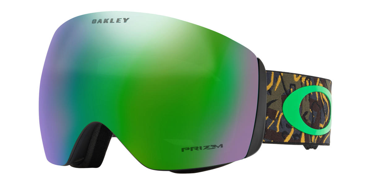 Oakley Flight Deck Goggle 2019 Camo Jungle Vine Prizm Jade