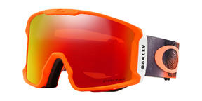Oakley Line Miner Goggle 2019 Mystic Flow Neon Orange Prizm Torch