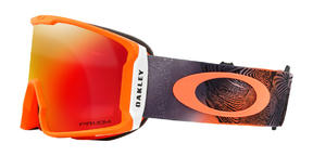 Oakley Line Miner Goggle 2019 Mystic Flow Neon Orange Prizm Torch Thumbnail 2