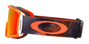 Oakley Line Miner Goggle 2019 Mystic Flow Neon Orange Prizm Torch Thumbnail 3