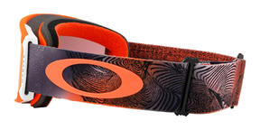 Oakley Line Miner Goggle 2019 Mystic Flow Neon Orange Prizm Torch Thumbnail 4