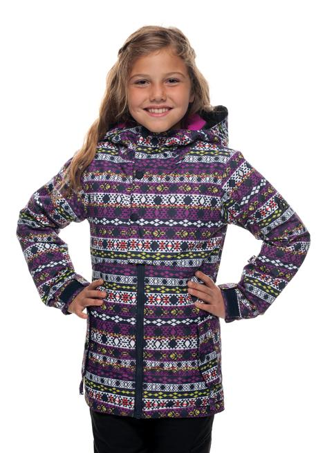 b1be943fc53c 686 Girls Belle Insulated Snowboard Ski Jacket Nordic age 8 10 ...