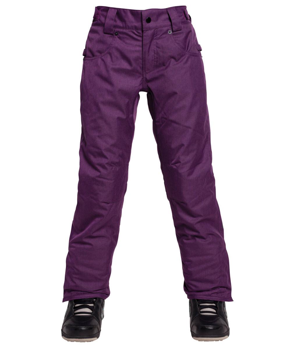 bc77a0507161 686 Elsa Snowboard Ski Pants Girls Small Age 8 10 Purple