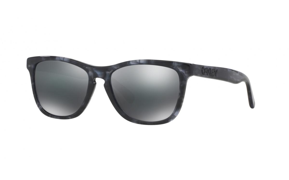 7407538b0a Oakley Frogskins LX Sunglasses Dark Grey Tortoise Black Iridium ...