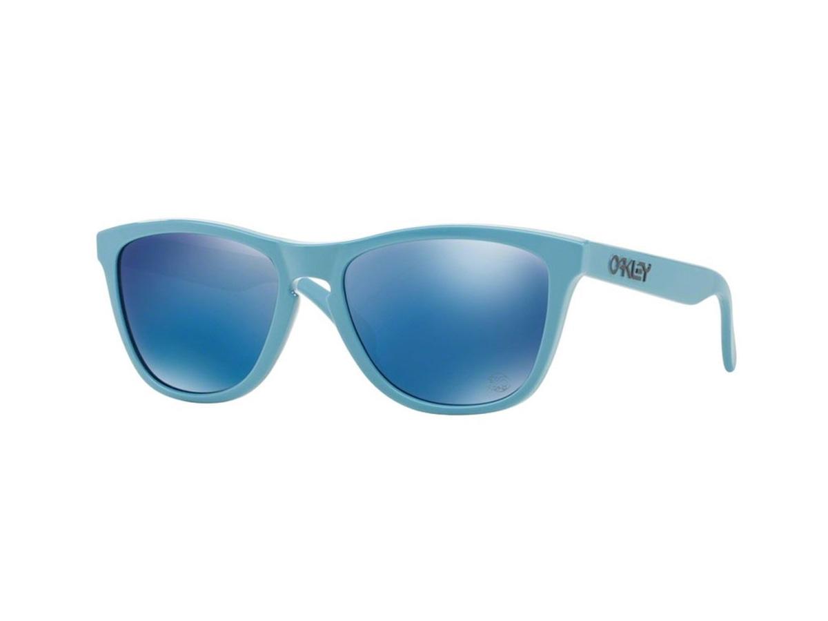 c2cf84e2610 Oakley Frogskins Sunglasses Heritage Blue Ice Iridium