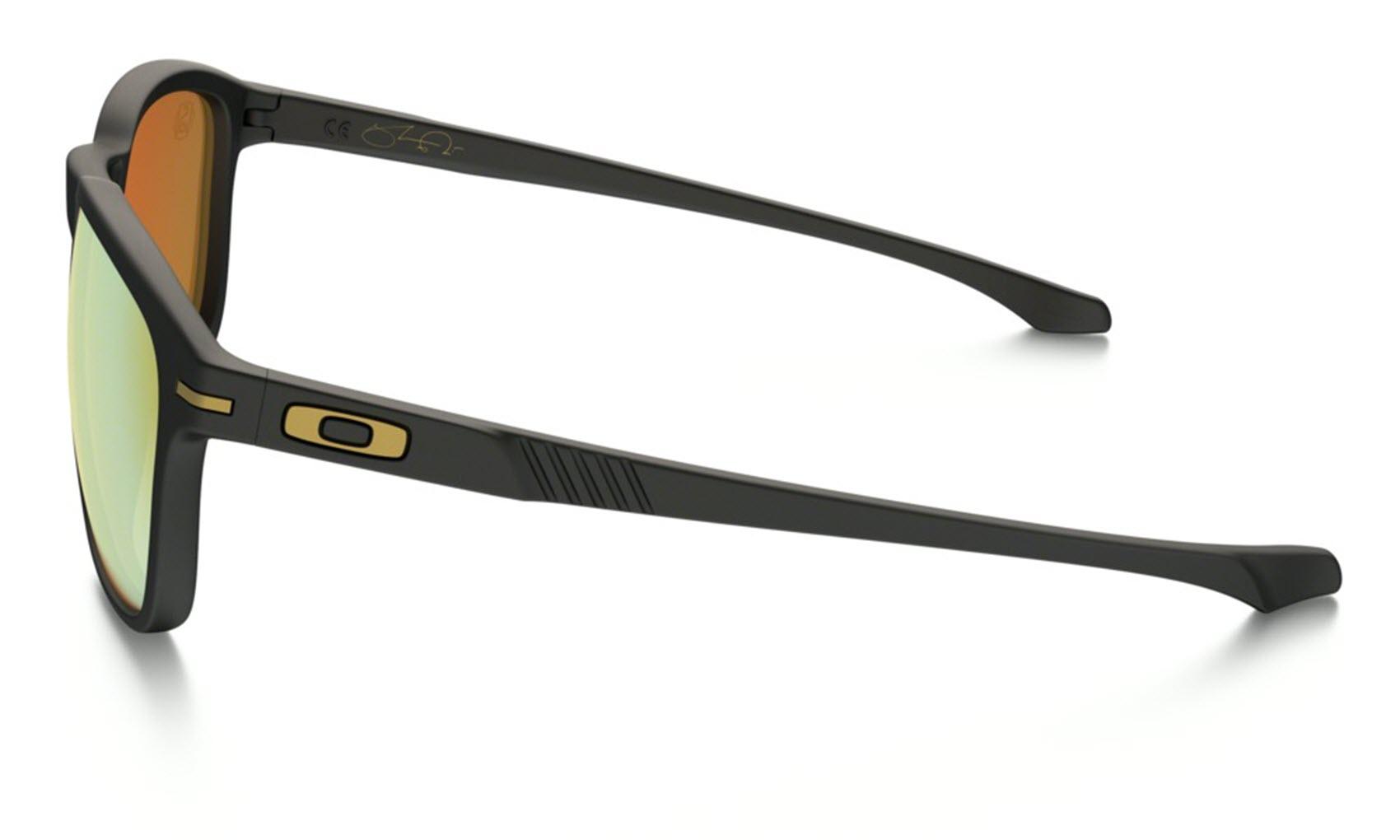 Sentinel Oakley Sunglasses - Enduro - Shaun White Collection, Matte Black , 24K  Iridium 77cac854e3