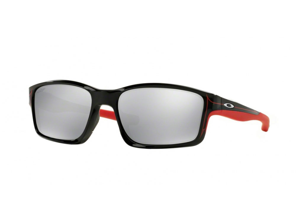 4bafe6cafd Sentinel Oakley Sunglasses - Chainlink - Polished Black