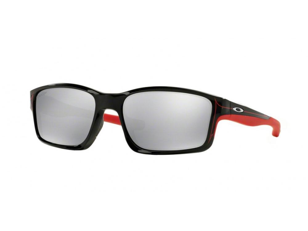 a35cb670c28 Oakley Chainlink Sunglasses Polished Black Chrome Iridium ...
