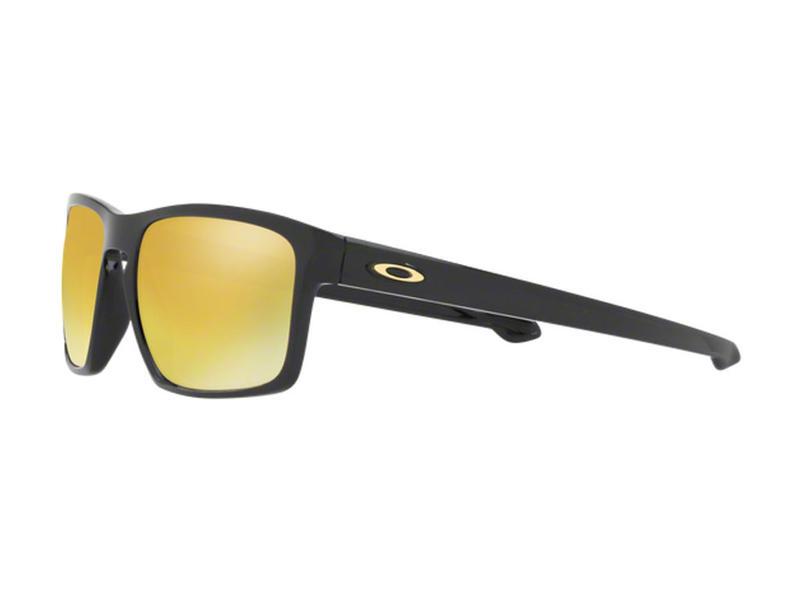 e65777264f8 Oakley Sliver Sunglasses Polished Black 24K Iridium Thumbnail 3