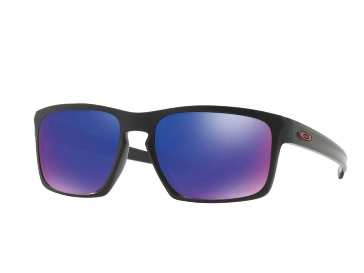 d50faf7cf8 Oakley Sliver Sunglasses Marc Marquez Matte Black Positive Red Iridium