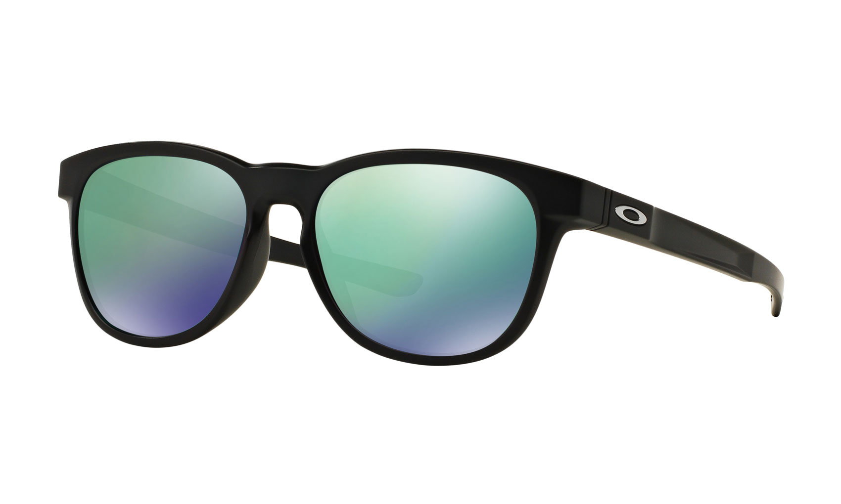 5548fbb2a6 Oakley Stringer Sunglasses Matte Black Jade Iridium