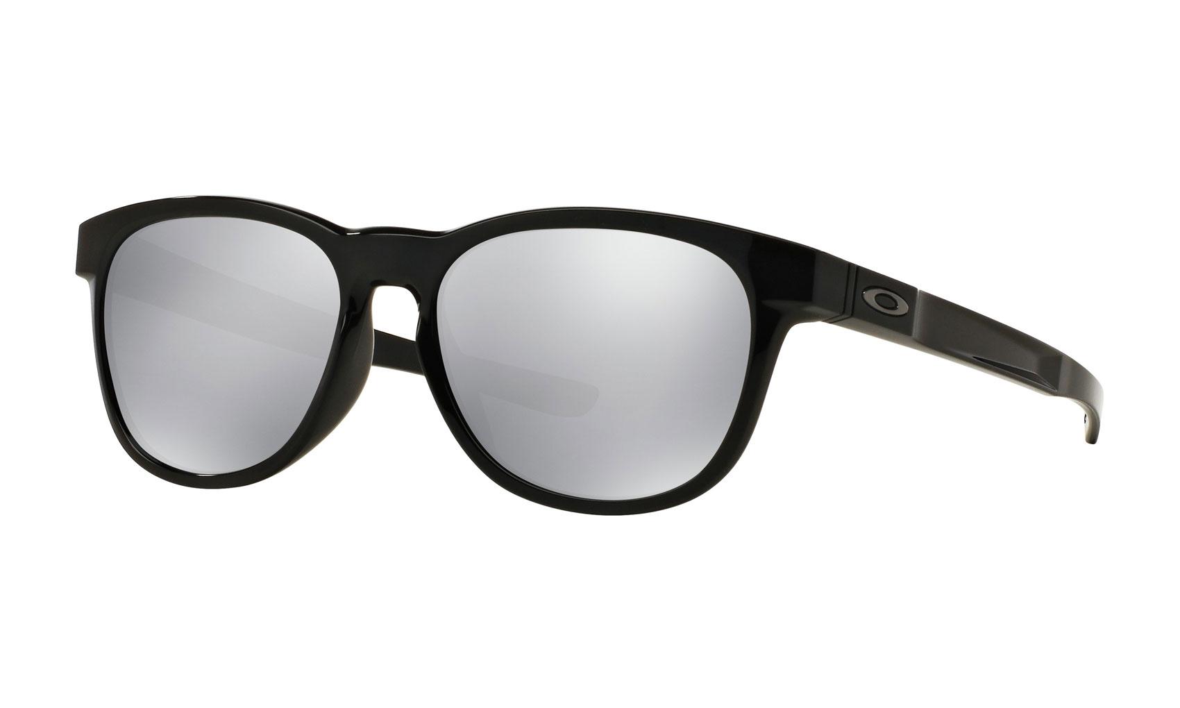 3323ffc3e8 Oakley Stringer Sunglasses Polished Black Chrome Iridium ...