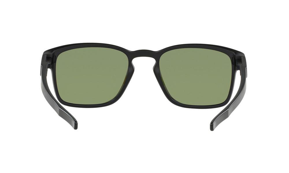 0fbcfd102e Oakley Latch SQ Sunglasses Matte Black Violet Iridium Polarized Thumbnail 4