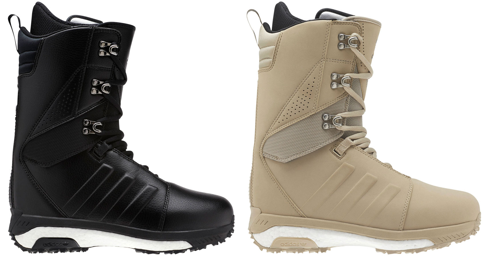 best sneakers 089f8 fd89b Sentinel Adidas Snowboard Boots - Tactical ADV - Core Black, Raw Gold,  Boost Sole -