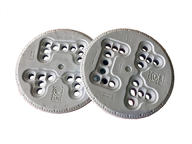 Flow Mounting Discs M Series 10cm in White