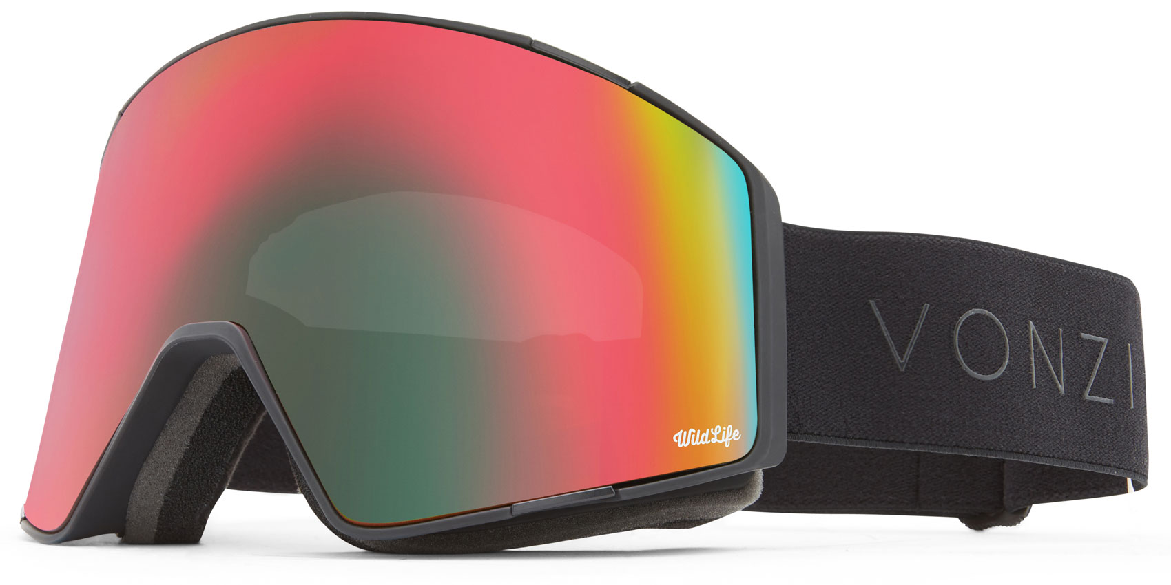 VonZipper Capsule Goggles 2019 Black Satin Wildlife + Wildlife Low Light