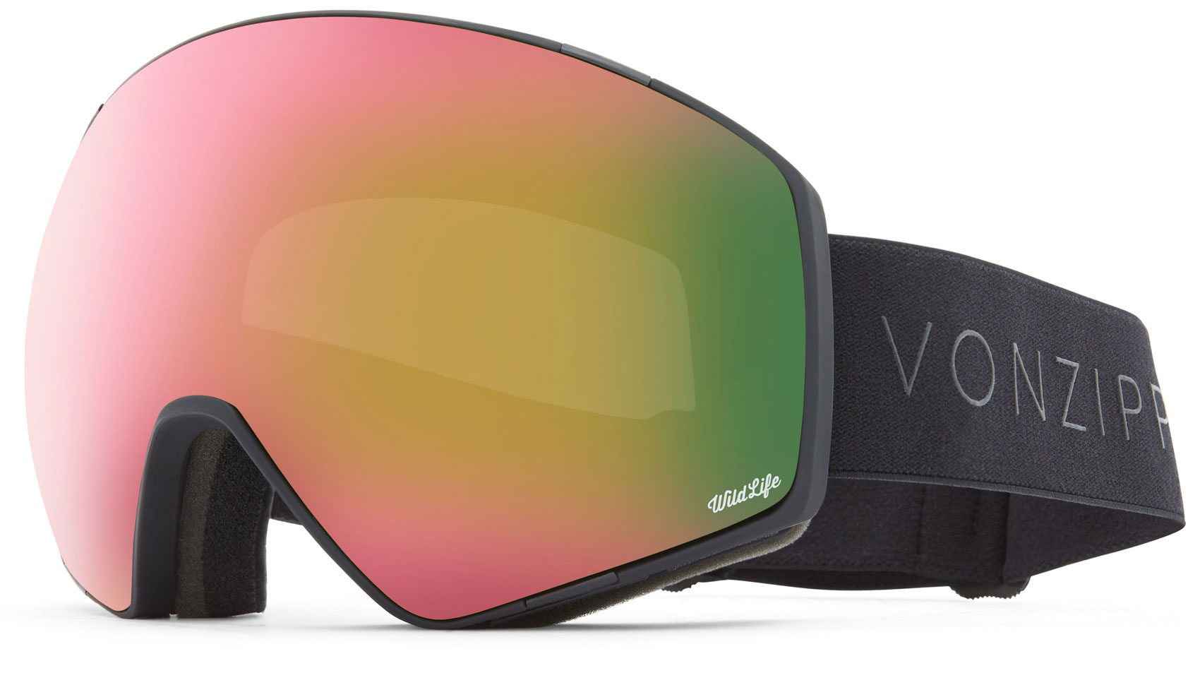 VonZipper Jetpack Goggles 2019 Black Satin Wildlife + Wildlife Low Light