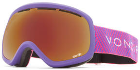 VonZipper Skylab Goggles 2019 Purple Satin Wildlife + Yellow