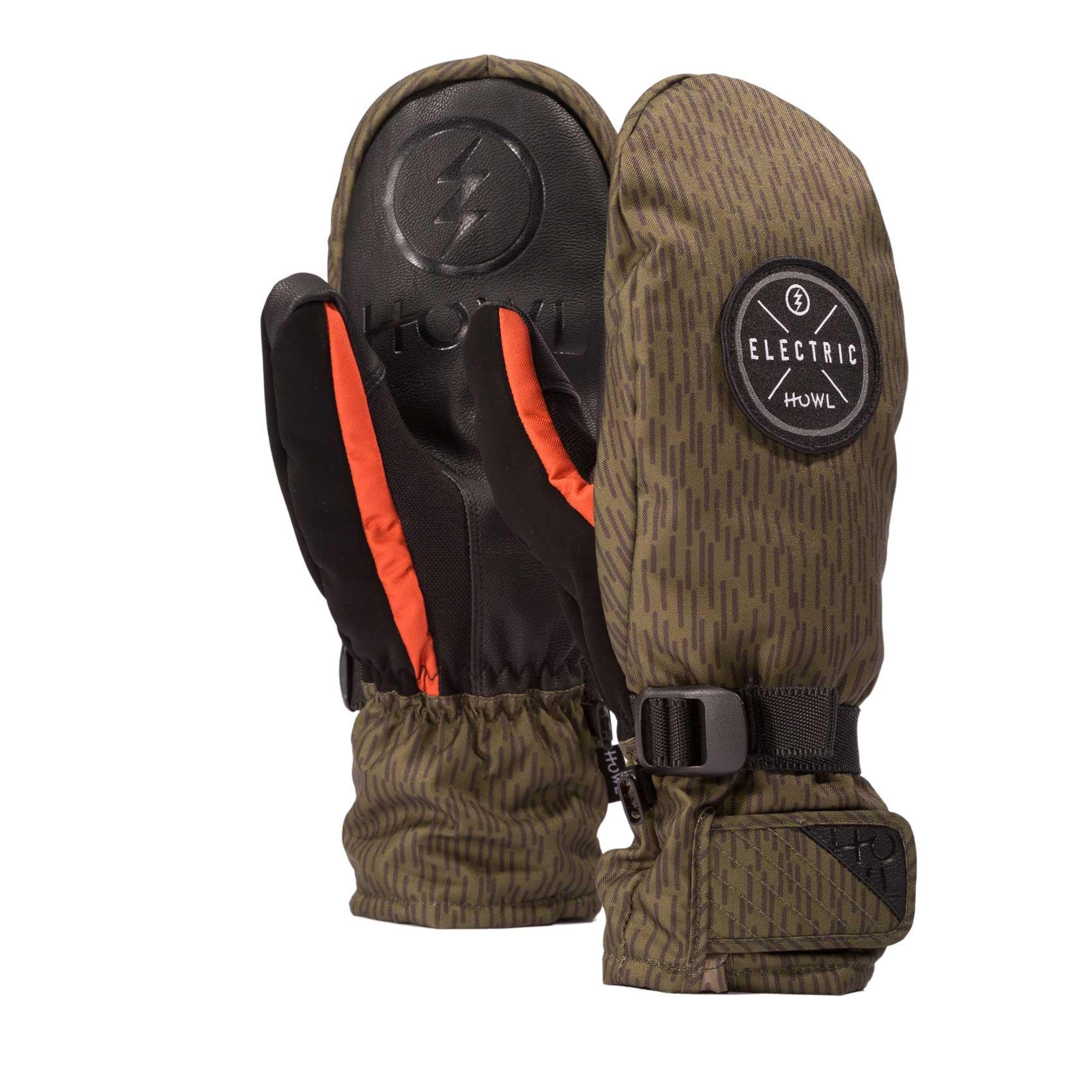e1522b5615a Howl Snowboard Gloves Fairbanks Electric Mitt 2019