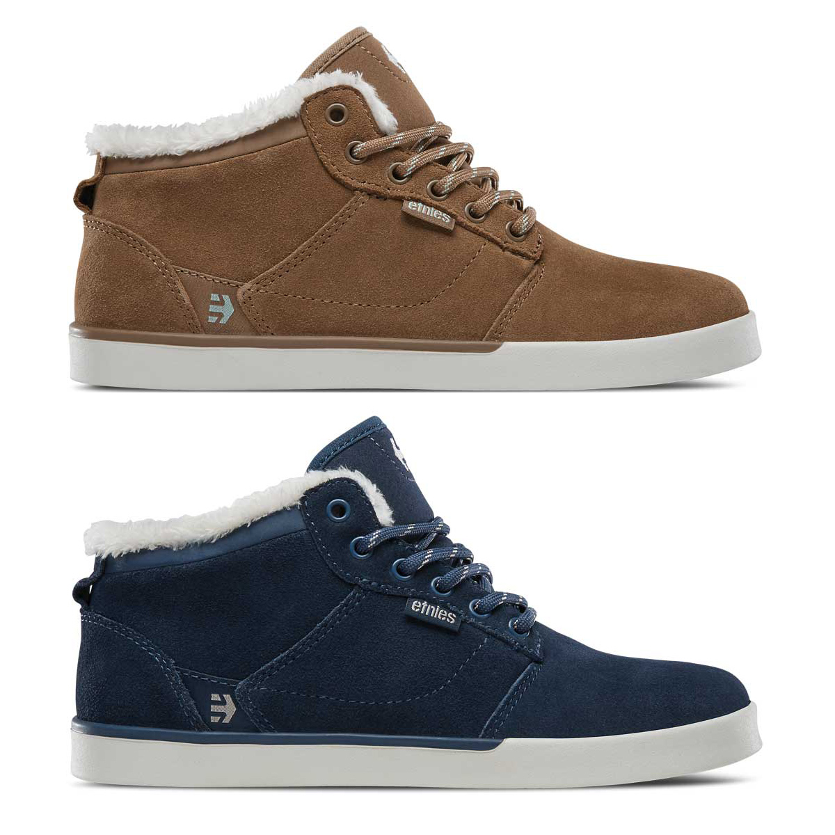 Details about Etnies Womens Skate Shoes - Jefferson MID - Skateboarding  Trainers b3f58a124c