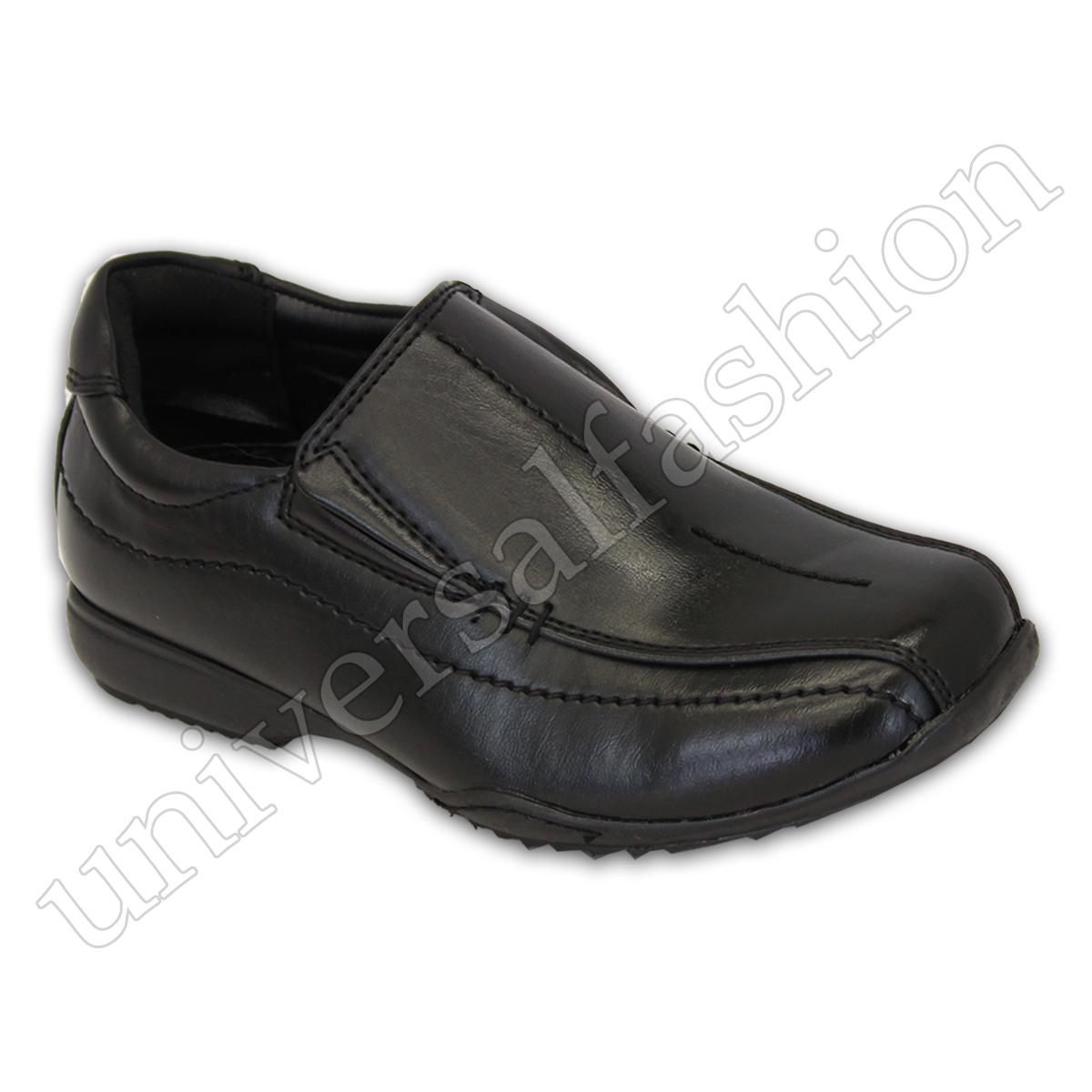 De Mocasines Zapatos Negros Niño Elegante Los Vestir Pequeños Detalles Niños Escuela otshQrBdxC