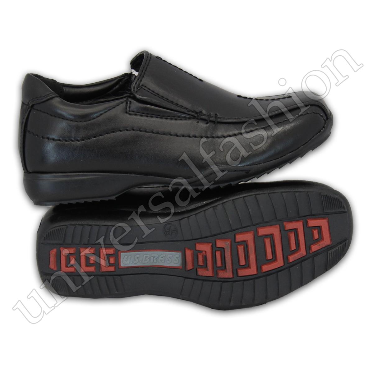 e134ffcb Niño Escuela Zapatos Negros los Niños Pequeños Mocasines de Vestir ...