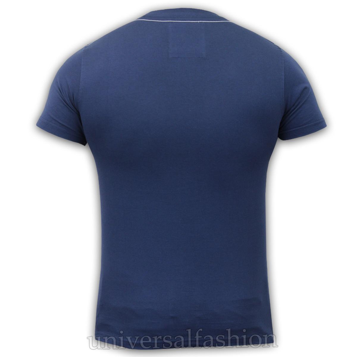 Hommes t shirt santa monica polo club à manches courtes haut à encolure ras-du-cou été casual