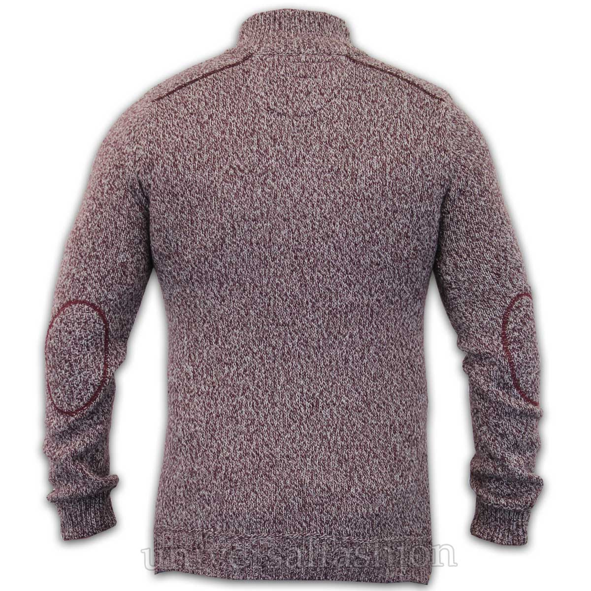 Mens-Jumper-Threadbare-Wool-Mix-Knitted-Pullover-Top-Sweater-Casual-Winter-New thumbnail 3