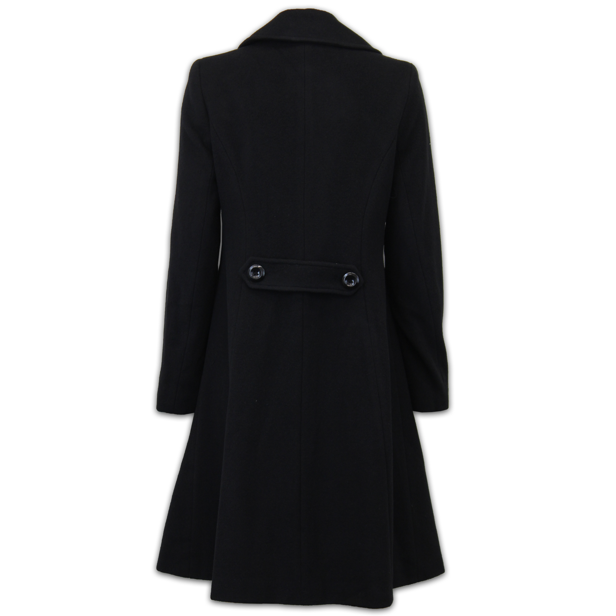 Ladies Wool Cashmere Coat Womens Jacket Outerwear Trench Overcoat ... 2fe23a99b