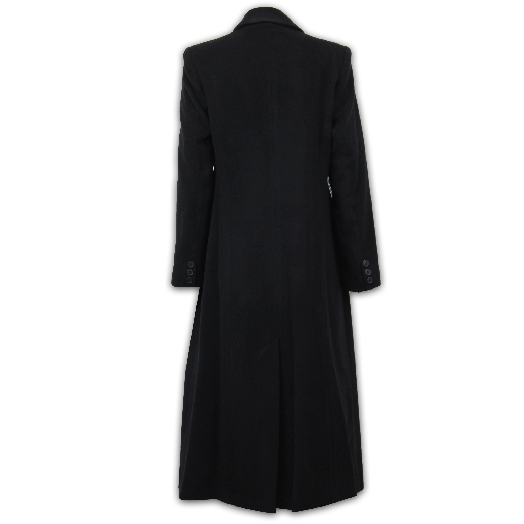 Ladies-Wool-Cashmere-Coat-Women-Jacket-Outerwear-Trench-Overcoat-Winter-Lined thumbnail 5
