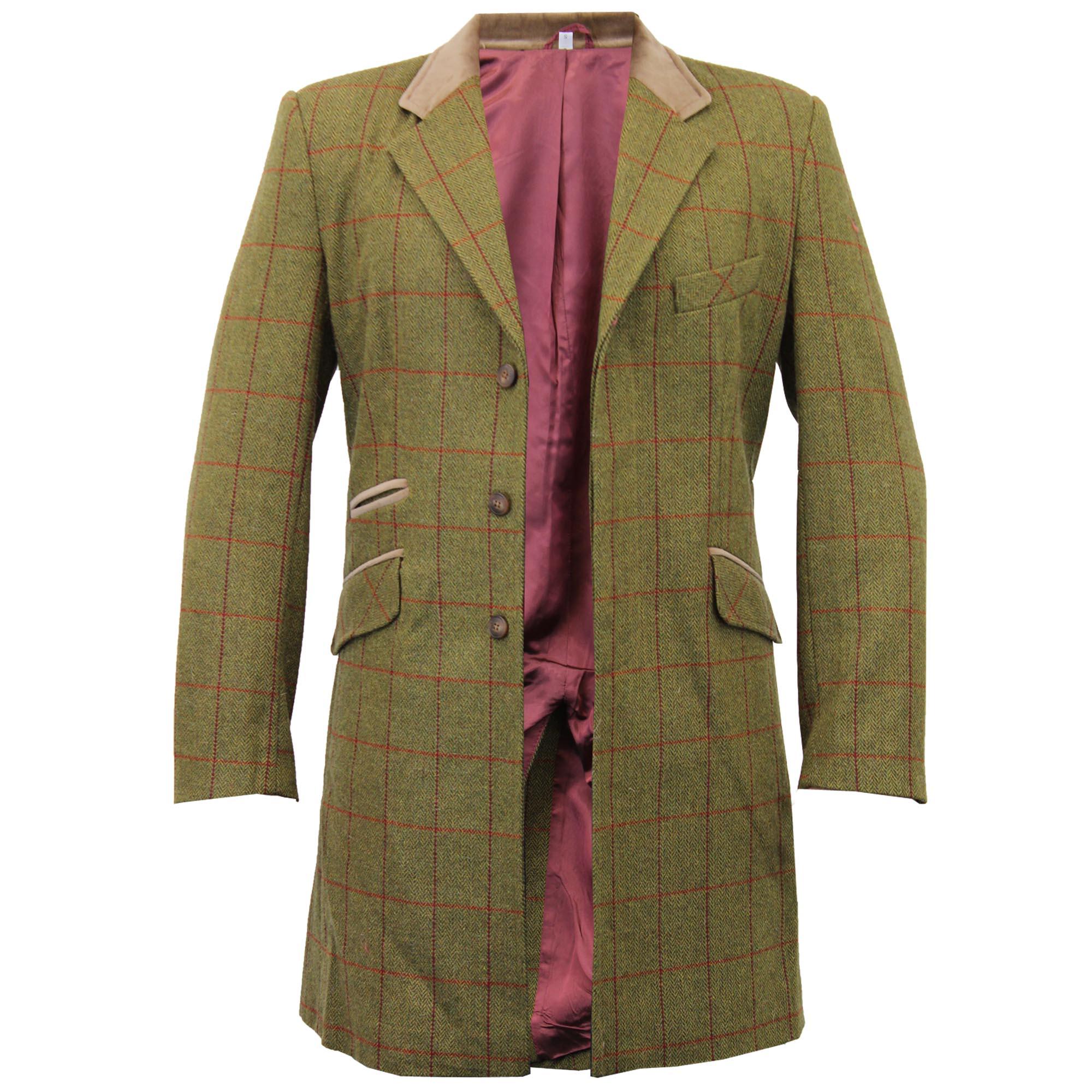 Tweed overcoats