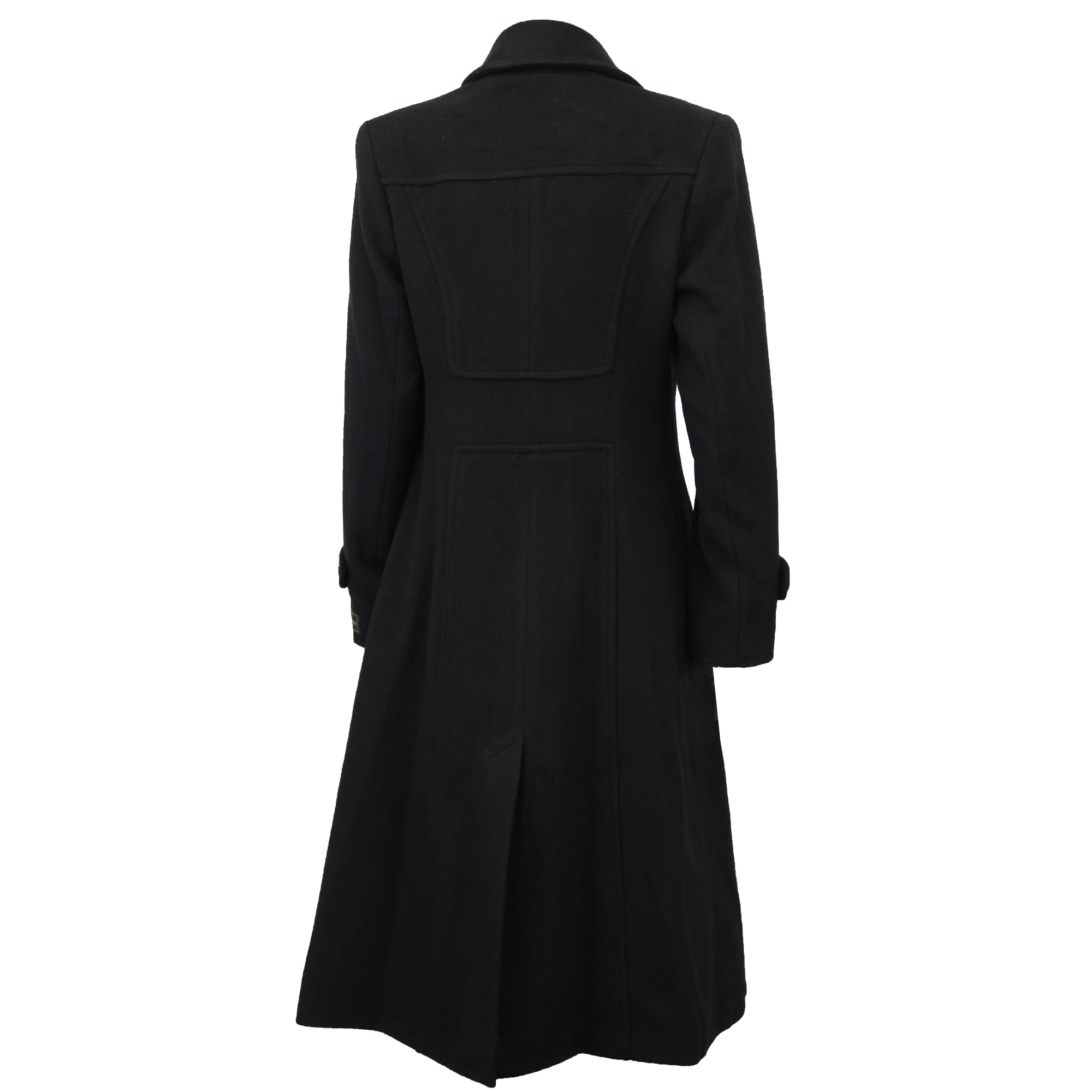 Ladies-Wool-Cashmere-Coat-Women-Jacket-Outerwear-Trench-Overcoat-Winter-Lined thumbnail 14