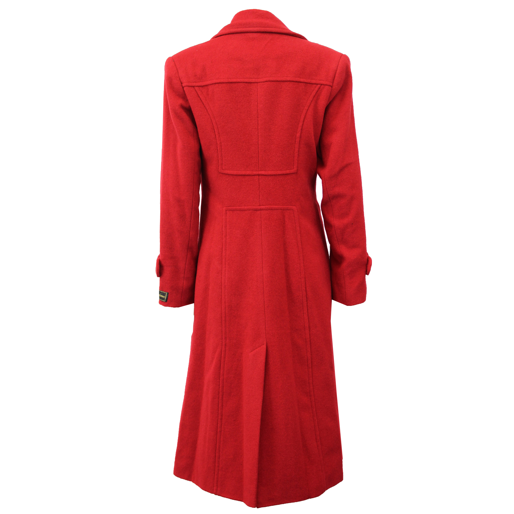 Ladies-Wool-Cashmere-Coat-Women-Jacket-Outerwear-Trench-Overcoat-Winter-Lined thumbnail 57