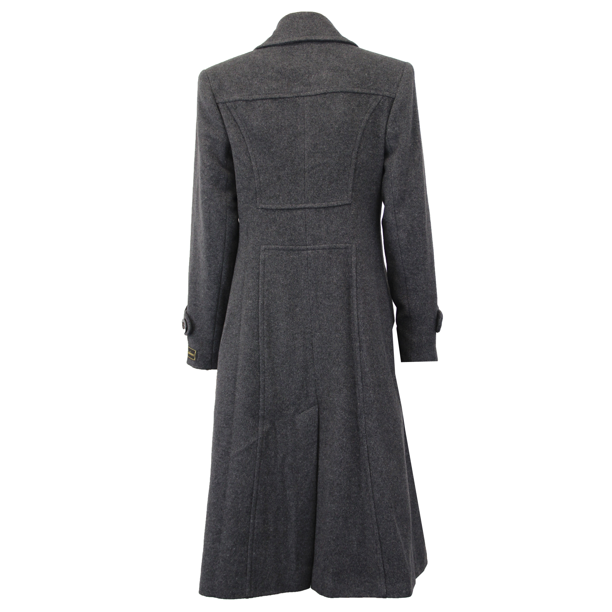 Ladies-Wool-Cashmere-Coat-Women-Jacket-Outerwear-Trench-Overcoat-Winter-Lined thumbnail 49