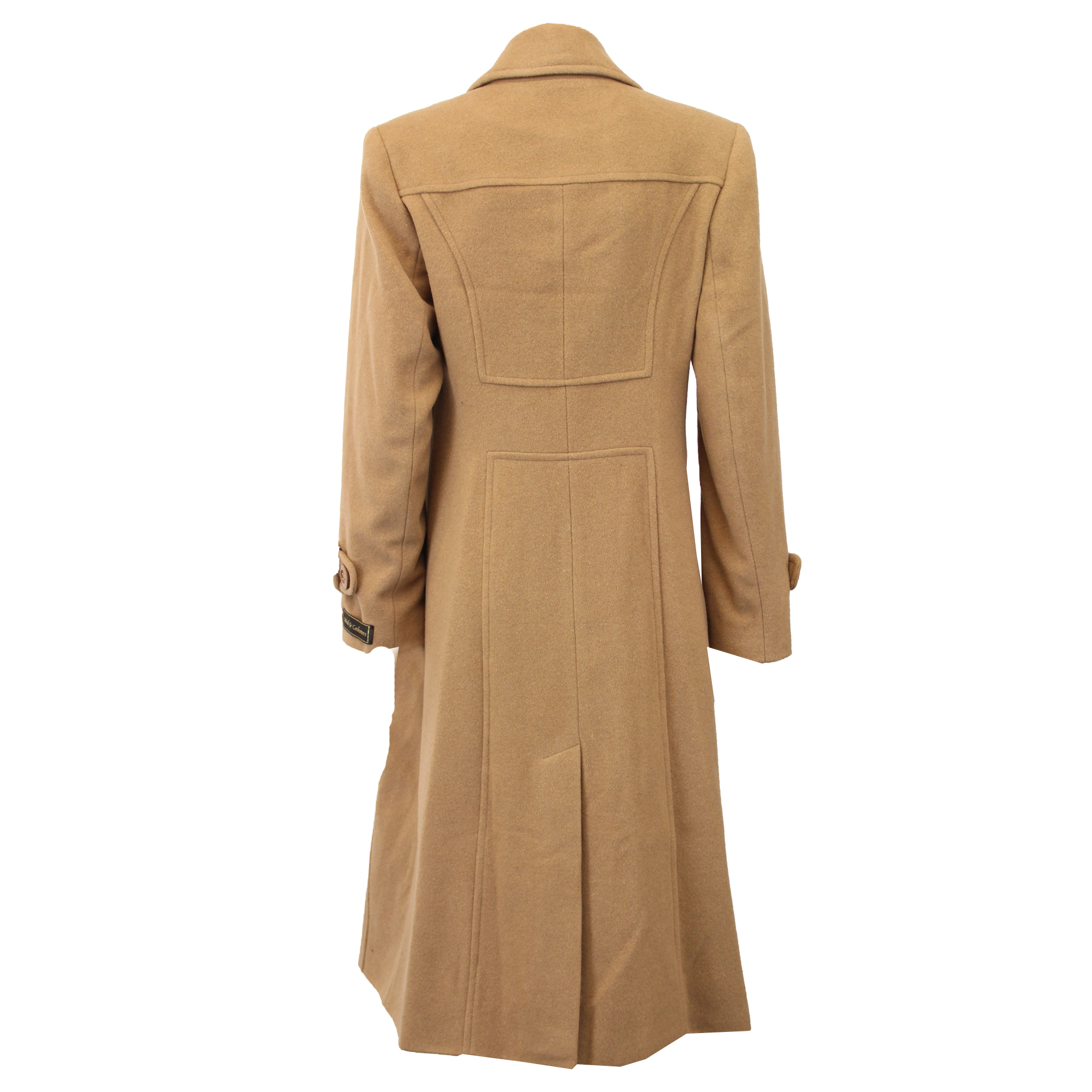 Ladies-Wool-Cashmere-Coat-Women-Jacket-Outerwear-Trench-Overcoat-Winter-Lined thumbnail 37