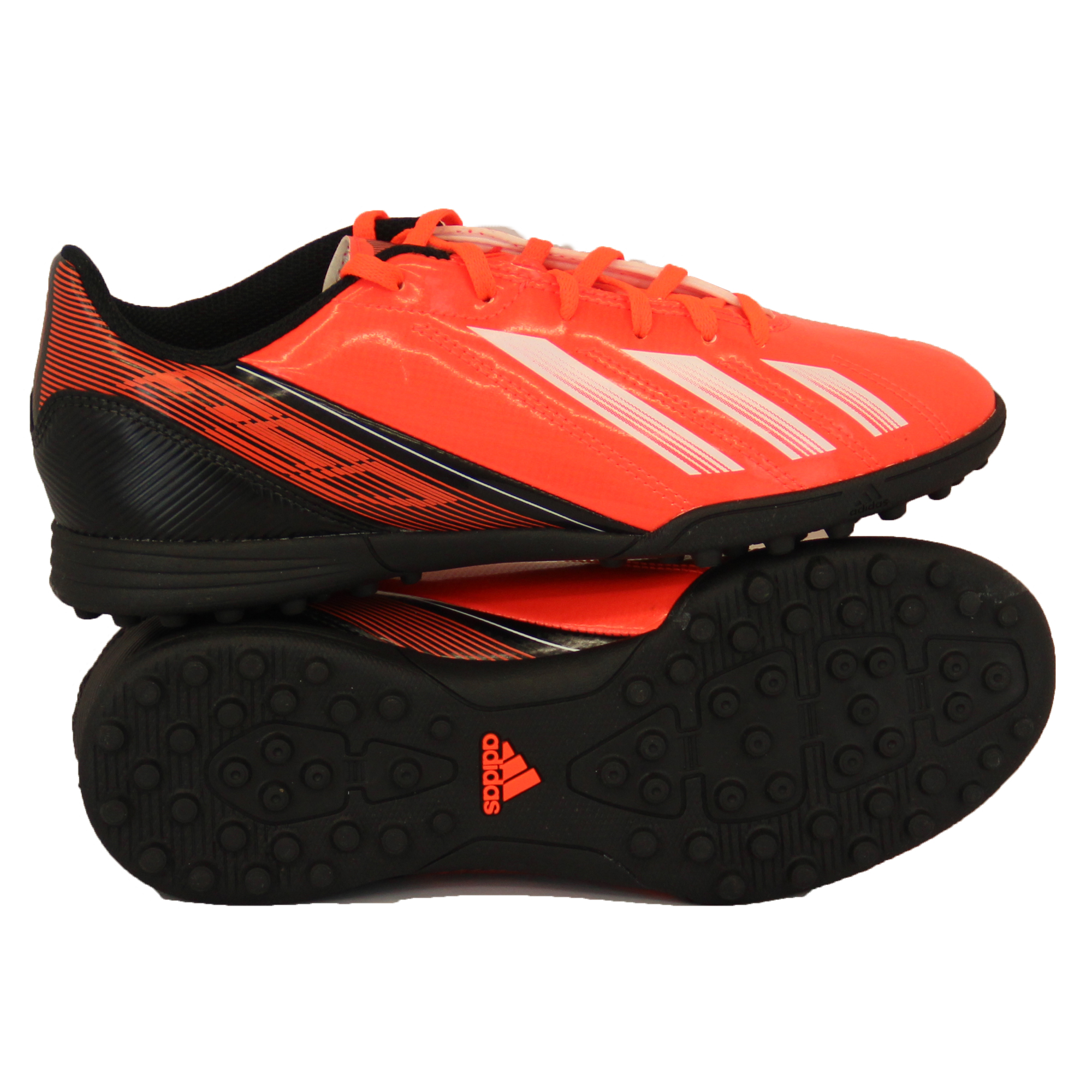 Boys-ADIDAS-Trainers-Kids-Football-Soccer-Astro-Turf-Shoes-Lace-Up-Neon-Youth thumbnail 9
