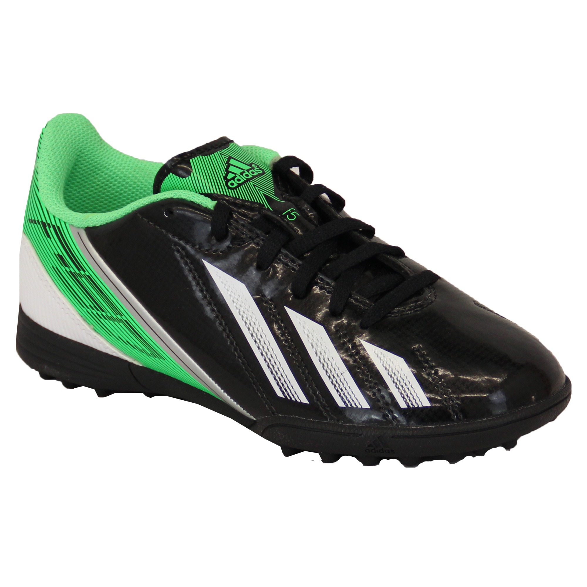 Boys-ADIDAS-Trainers-Kids-Football-Soccer-Astro-Turf-Shoes-Lace-Up-Neon-Youth thumbnail 2
