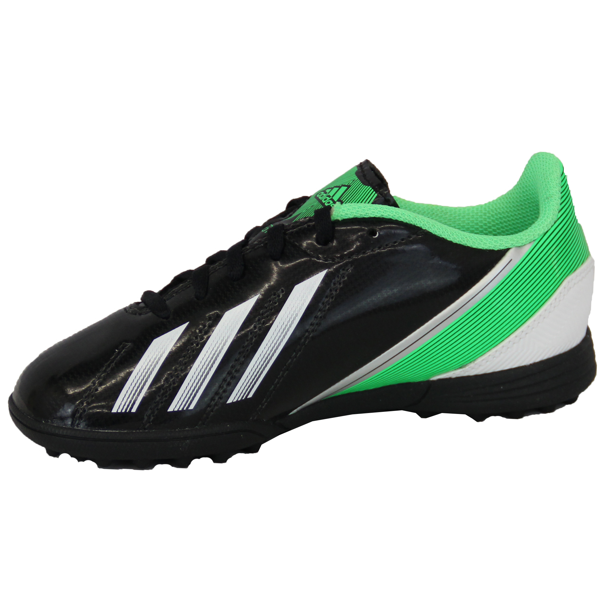 Boys-ADIDAS-Trainers-Kids-Football-Soccer-Astro-Turf-Shoes-Lace-Up-Neon-Youth thumbnail 3