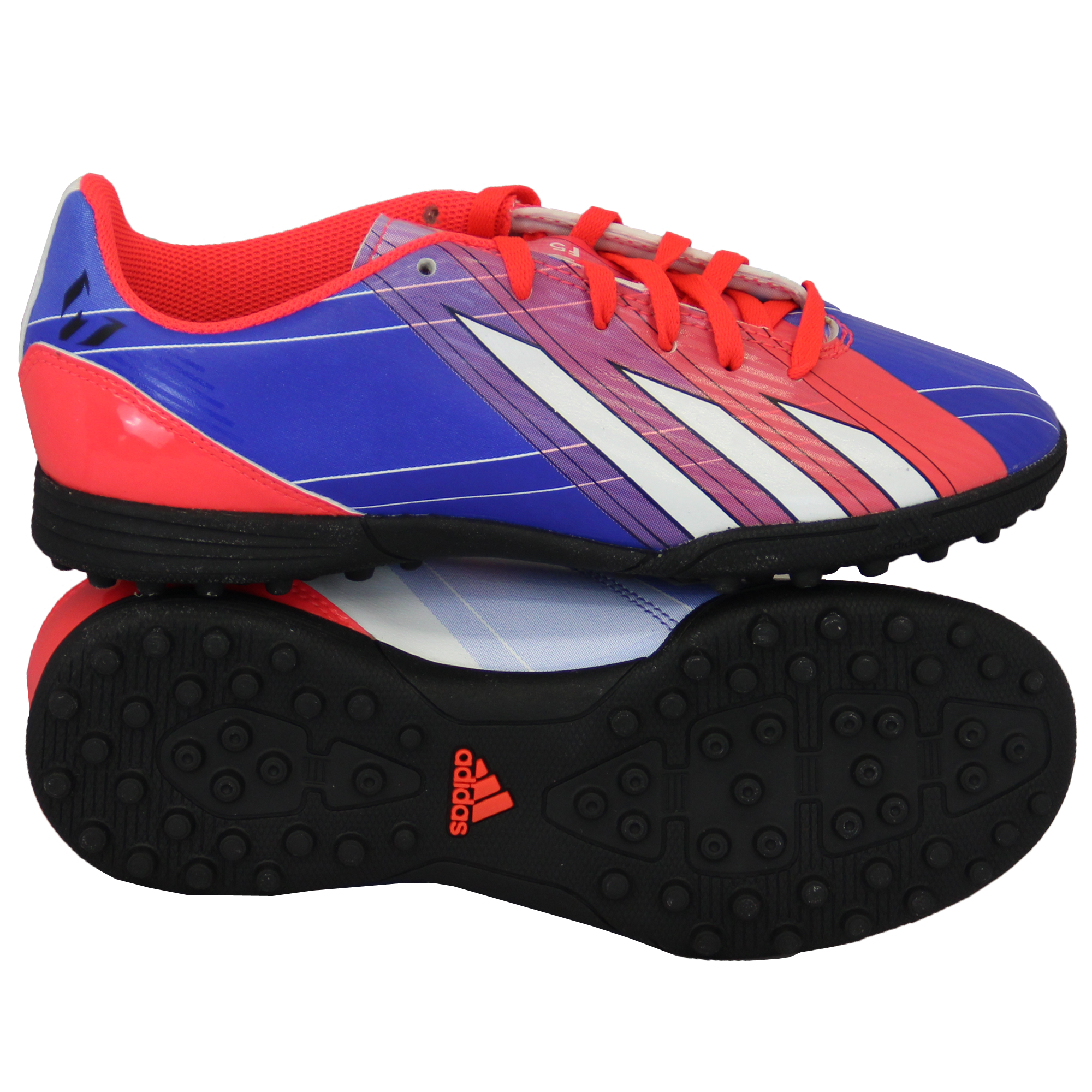 Blue And Orange Adidas X Soccer Shoes For Turf