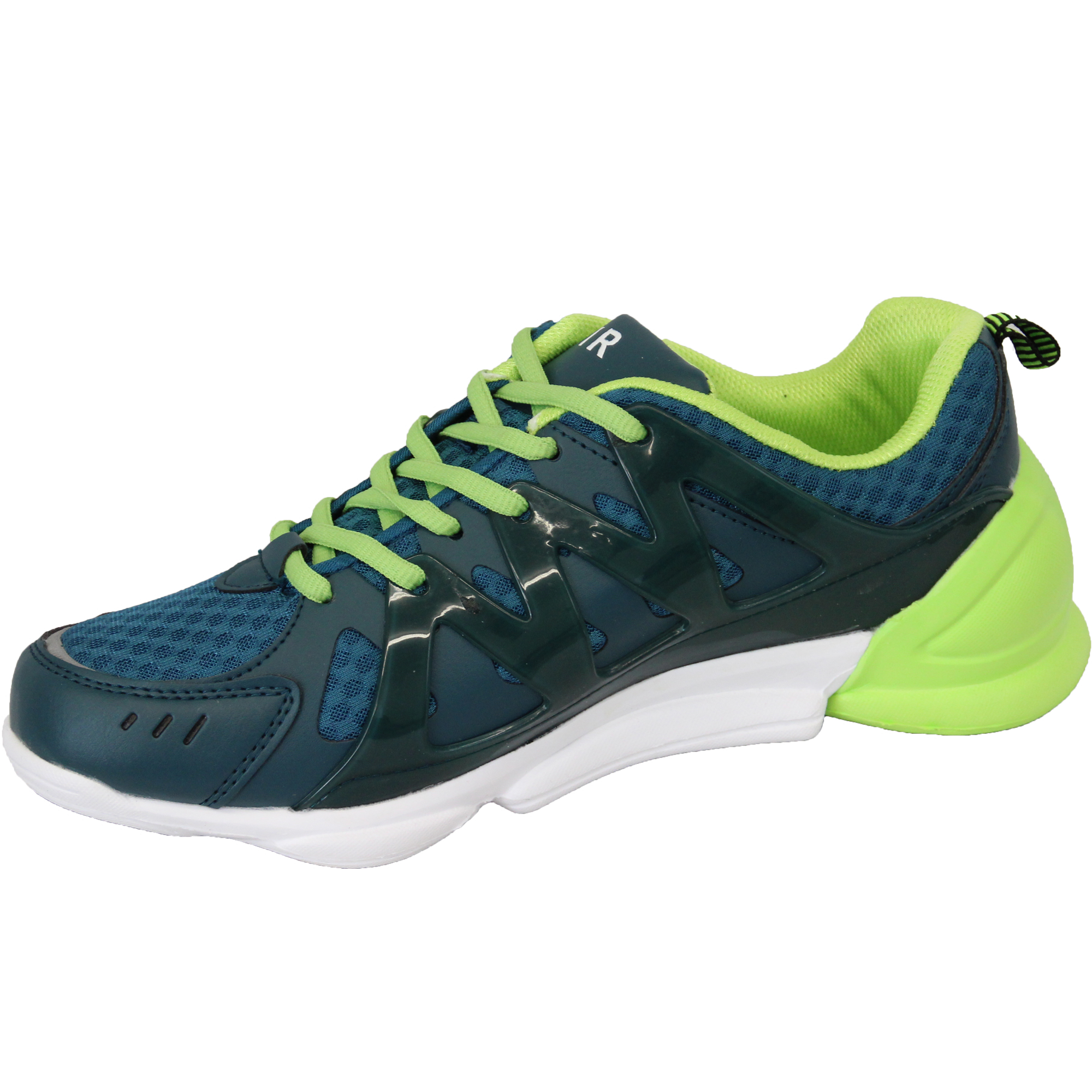 Mens-Trainers-Air-Tech-Shoes-Jogging-Lace-Up-Walking-Running-Sports-Gym-Mesh-New thumbnail 4