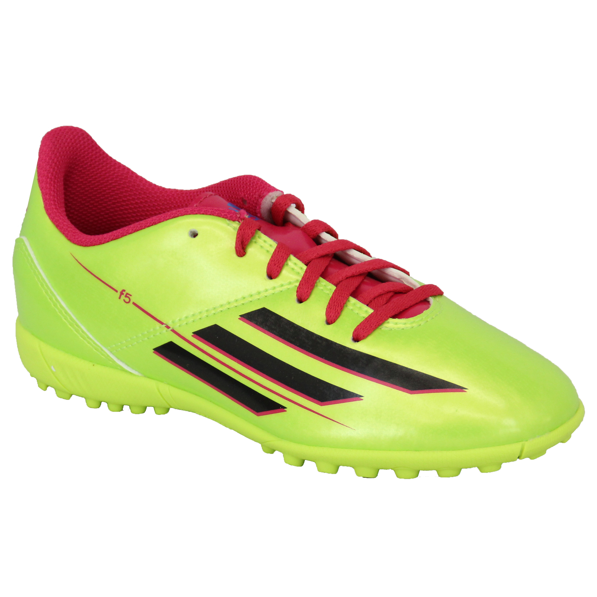 Boys-ADIDAS-Trainers-Kids-Football-Soccer-Astro-Turf-Shoes-Lace-Up-Neon-Youth thumbnail 12