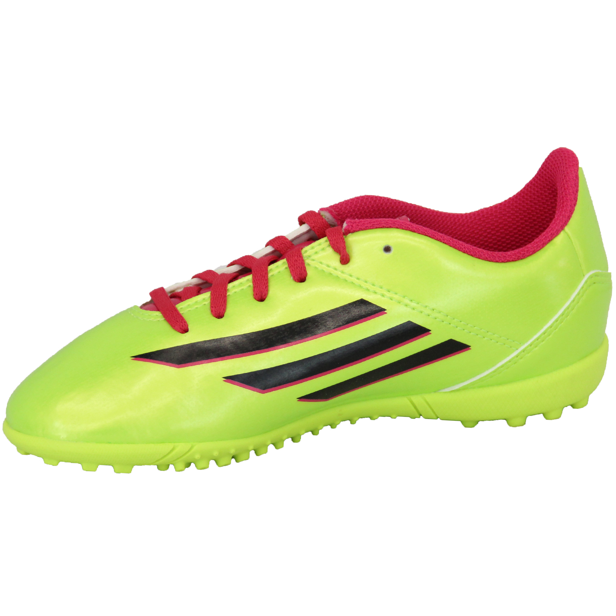 Boys-ADIDAS-Trainers-Kids-Football-Soccer-Astro-Turf-Shoes-Lace-Up-Neon-Youth thumbnail 13