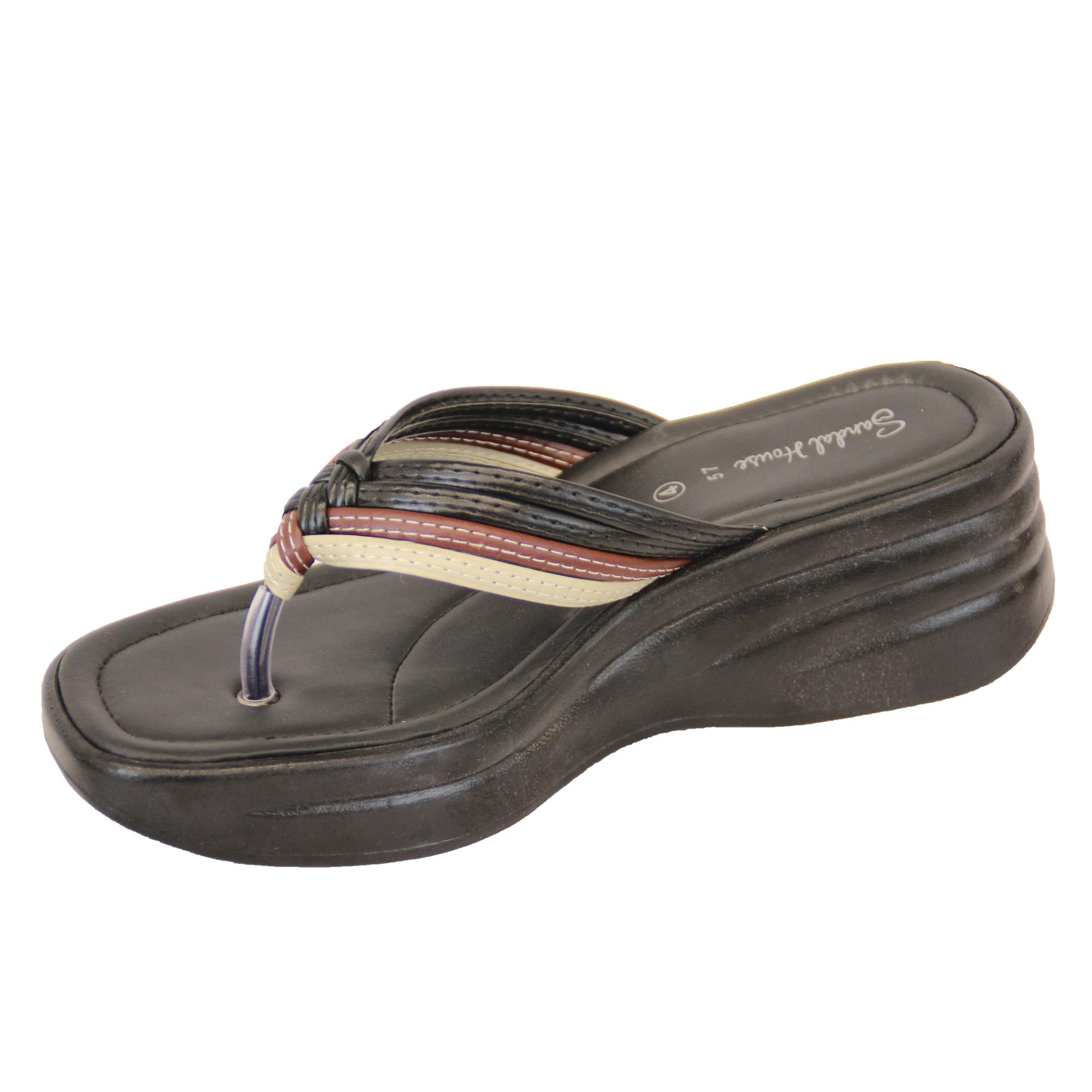 damen sandalen glitzersteine hineinschl pfen zehensteg