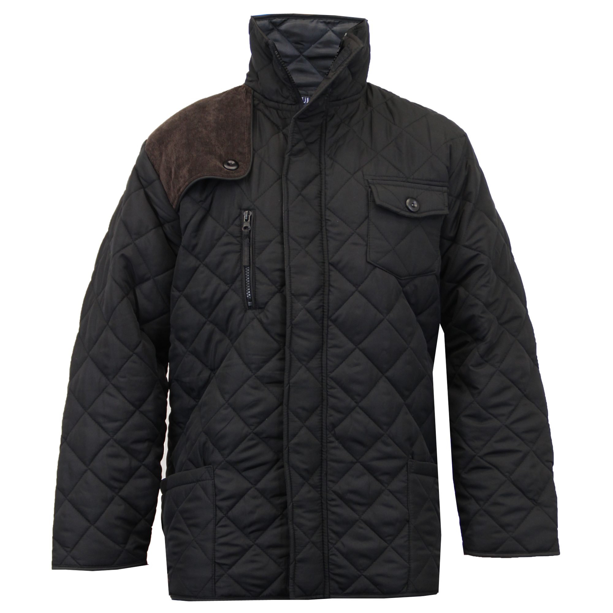 71d958864cc4 Boys Soul Star Jacket Kids Coat Diamond Quilted Padded Cord Patches ...
