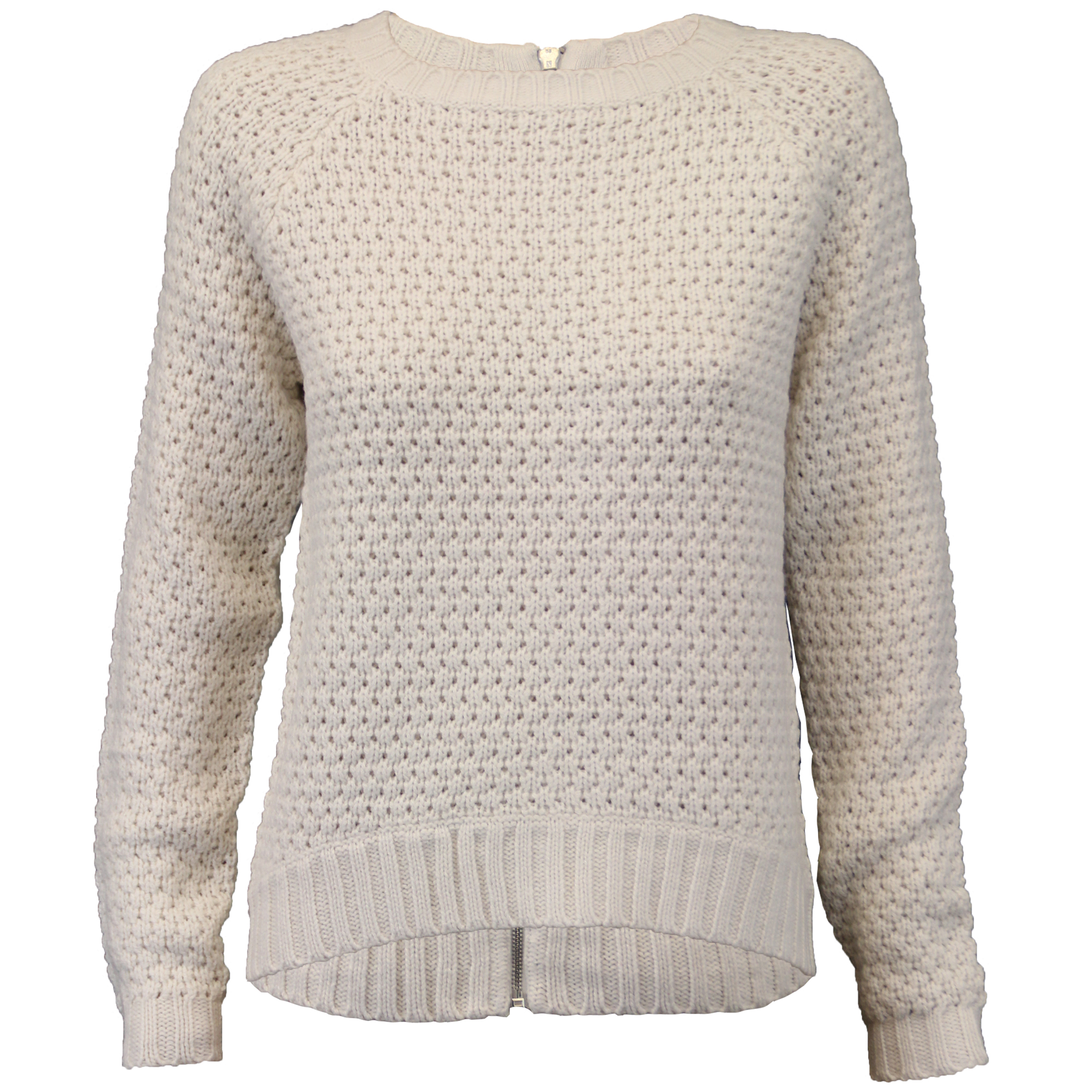 95b5c923cba7 ladies jumpers womens knitted pullover top crew neck waffle zip party  winter new