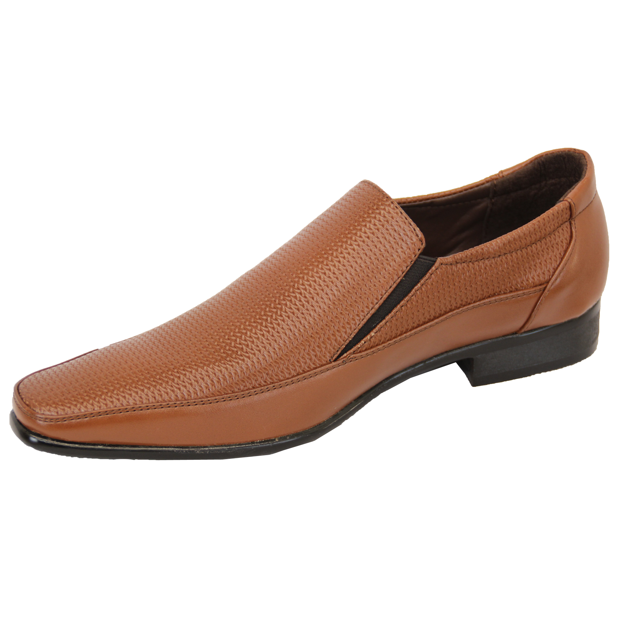 Mens Brown Slip on Shoe