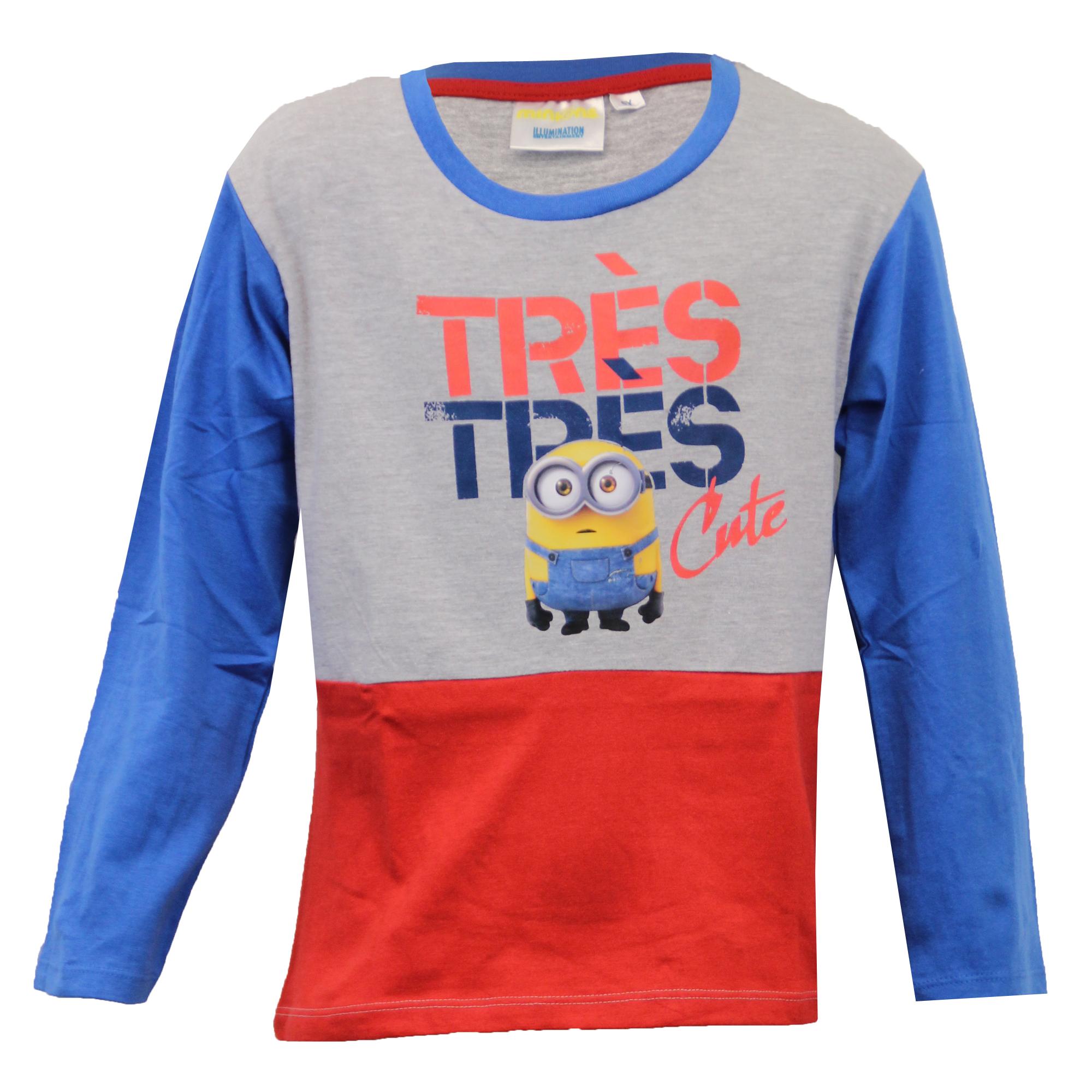 Boys T Shirt STAR WARS MINIONS Kids Top Character Cartoon Jersey Graphic Print
