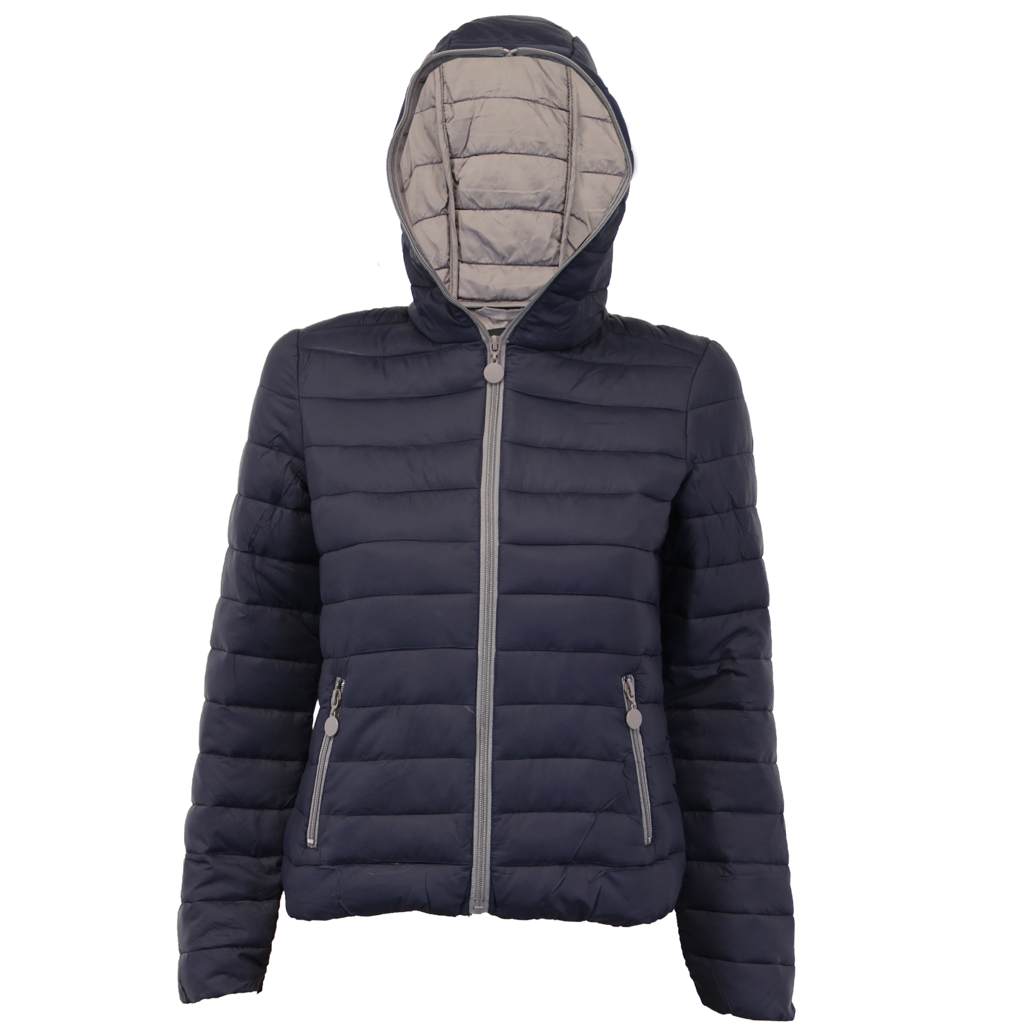 Ladies Parka Jacket Brave Soul Womens Coat Fish Tail Padded Hooded ... : quilted hooded jacket - Adamdwight.com